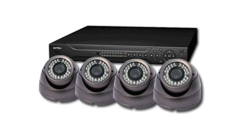 Комплект за видеонаблюдение PSS-8